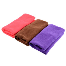 New 1pc Absorbent Microfiber Towel Face Wash Cleaning Drying Hair Towels Washcloth Swimwear Shower Hand Bath Towel(China)