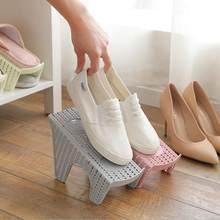 Plastic Shoe Organizer Double Wide Shoe Holder High Heel Shoe Cleaning  Shoes Storage Holder Bedroom