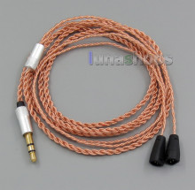 TPE Skin OCC Custom Cable For New IE8 IE8i IE80 Earphone Headphone LN005196(China)
