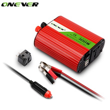 Onever 2017 New Automotive Car Auto Power Inverter DC 12V To AC 220V 300W Modified Sine Wave Converter Adapter Adaptor with USB