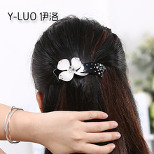 Accessoire Cheveux 2016 Flower Fascinator Women Hair Barrette Rhinestone Hair Accessories For Women Accesorios Para El Pelo(China)