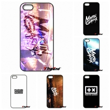 For iPhone 4 4S 5 5C SE 6 6S 7 Plus Galaxy J5 J3 A5 A3 2016 S5 S7 S6 Edge Fashion MARTIN GARRIX Logo Print Hard Phone Case