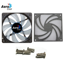 Wholesale Aerocool PC Case Cooling Fan 120mm Silent Fan With Fan Dust Filter/Net Washable/Dust Cover