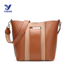 YUBIRD Tote Large Brown Bucket Bag Vintage Patchwork Women Bag 2018 Big Designer Elegant Leather Cross Body Shoulder Sac Seau