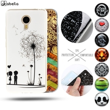 Akabeila Painted Phone Case For Meizu M3 Note Meilan Note 3 Meilan Note3 Silicon Soft TPU Cool Design Cover Shell Back Coque(China)