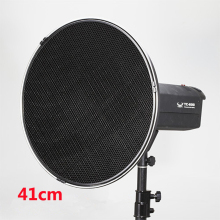 High Quality 41cm Aluminum Beauty Dish Bowens Mount With Honeycomb Beauty Dish Kits For Photo Strobe Hot Selling