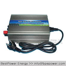 Grid Tie Micro Solar Inverter 600W DC10.5-28V to AC110V or AC220V Pure Sine Wave Inverter Suitable for 600-720W 18V PV Module(China)