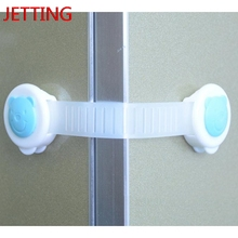 Jetting New 1 Pc Cabinet Door Drawers Refrigerator Toilet Safety Plastic Lock For Child Kid Baby Safety Best Deal Security Locks