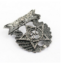 BA023 2016 Korean star fashion five tips brooch personalized atmosphere jewelry wholesale