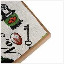 Butterfly style style Cotton Linen Fabric Sewing DIY Patchwork Quilt Knitted Sofa Curtain Cloth Cushion Table Furniture Material(China)