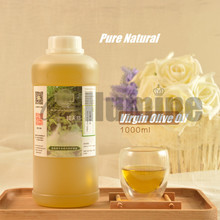 Virgin Olive Essential Oil  Pure Natural  Handmade Soap Raw Material Skin Care Massage Moisturizing Beauty Salon 1000ml