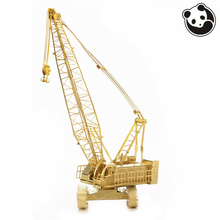 Pandamodel@3D Metal Model Puzzles CRAWLER CRANE golden Chinese jigsaw brass Etching assembly Creative gifts(China)