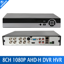 Multifunctional AHDH DVR Hybrid DVR/1080P NVR Video Recorder CCTV AHD DVR 8CH 1080P For AHD/Analog Camera IP Camera