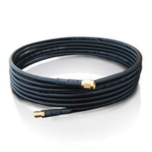 ALLISHOP Wireless Wifi aftermarket Antenna Cable SMA Male to RP-SMA Male Low Loss LMR195 Times Micro Jumper Cable 3m