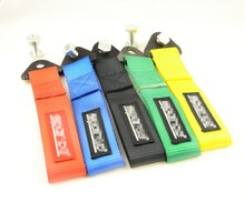 High Quality Nylon Tow Eye Strap Racing Car Tow Strap/High Strength Tow Ropes/Towing Bars (Red Blue Green Black Yellow)