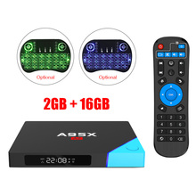 A95X A2 Android 6.0 TV Box Amlogic S912 Octa Core 2GB DDR4 16GB Flash Kodi 2.4G+5G WiFi HDMI 4K*2K Set Top Box Media Player