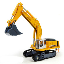KAIDIWEI 1:87 Alloy Excavator Toy Die cast Metal Car Model Kids Truck Toys For Children