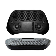 GP800 Air Mouse 2.4G Mini Wireless Keyboard air conditioner remote control For i8 mx mxq beelink S905x S912 Android TV Box(China)