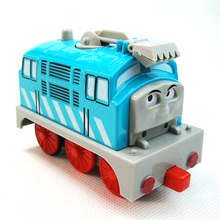 D958 Diecast Metal magnetic Thomas and Friends electric rail toy children/pull back/light /music/Track Child Toy Diesel