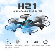 JJRC H21 2.4GHz 6CH Headless Mode One Key Return RC Helicopter RTF 6-Axis Gyro High Quality(China)