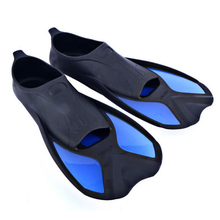 1pair Professional Diving Foot Flipper with Silicone Material Adult Unisex Swimming Fins Training Shoes Free Shipping