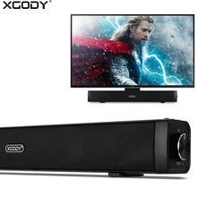 XGODY G808 TV Soundbar Wireless Bluetooth Speakers Audio Receiver 3D Stereo Sound System Amplifier Speaker for PC Computer Phone(China)