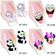 30 Styles! Fashion Nails Art Manicure Decals Florals Design Water Transfer Stickers For Nails Tips Beauty#BXF1229~BXF1258(China)