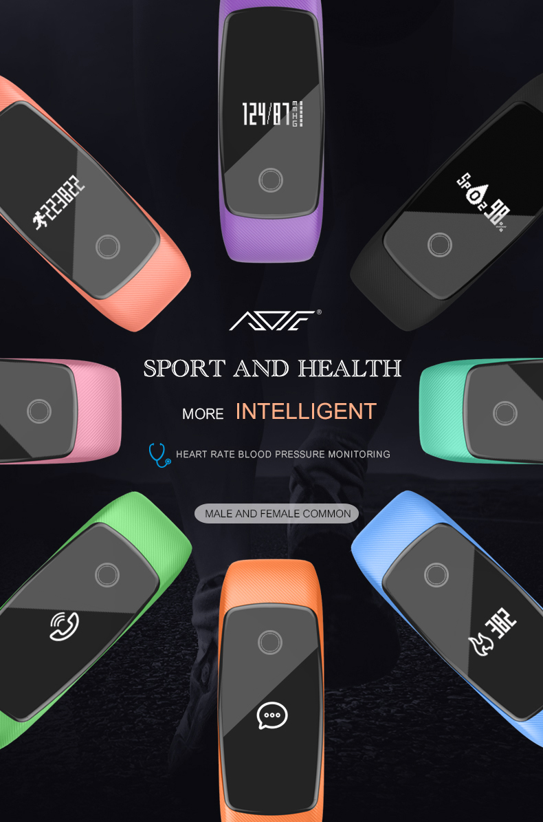 Original LETIKE WP109 colorful Smart Bracelet Heart Rate Monitor Fitness Tracker Smartband IP67 PRO Smart Wristband For APP 2