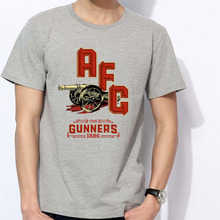 Men's Short sleeve t-shirt Arsenal London Holloway Premier League Emirates Stadium ARS Mesut Ozil 100% cotton t-shirt jersey fan(China)