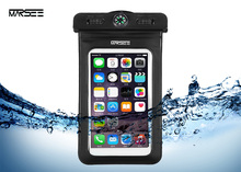 Waterproof Case,Marsee Universal Dry Bag Pouch with COMPASS LANYARD,WaterProof, Dustproof, Snow proof Dry Bag for Any Cell Phone