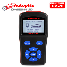 100% Original Autophix OBDMATE OM520 OBD2 Model Code Reader OM 520 Auto Diagnostic Scanner Can Bus OBDMATE Scan Tool Free Chip