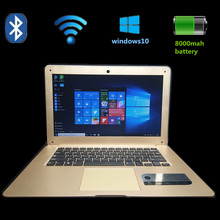 Multi-language 14inch Laptop Windows10 4GB Ram+64GB EMMC system with bluetooth Ultrathin Quad Core Fast Boot Notebook Computer(China)
