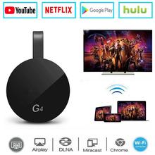 Für Google Chrome 2/3/2018 Android Netflix YouTube Cromecast Miracast WiFi HDMI Dongle Empfänger Mirascreen G4 Media Streamer(China)