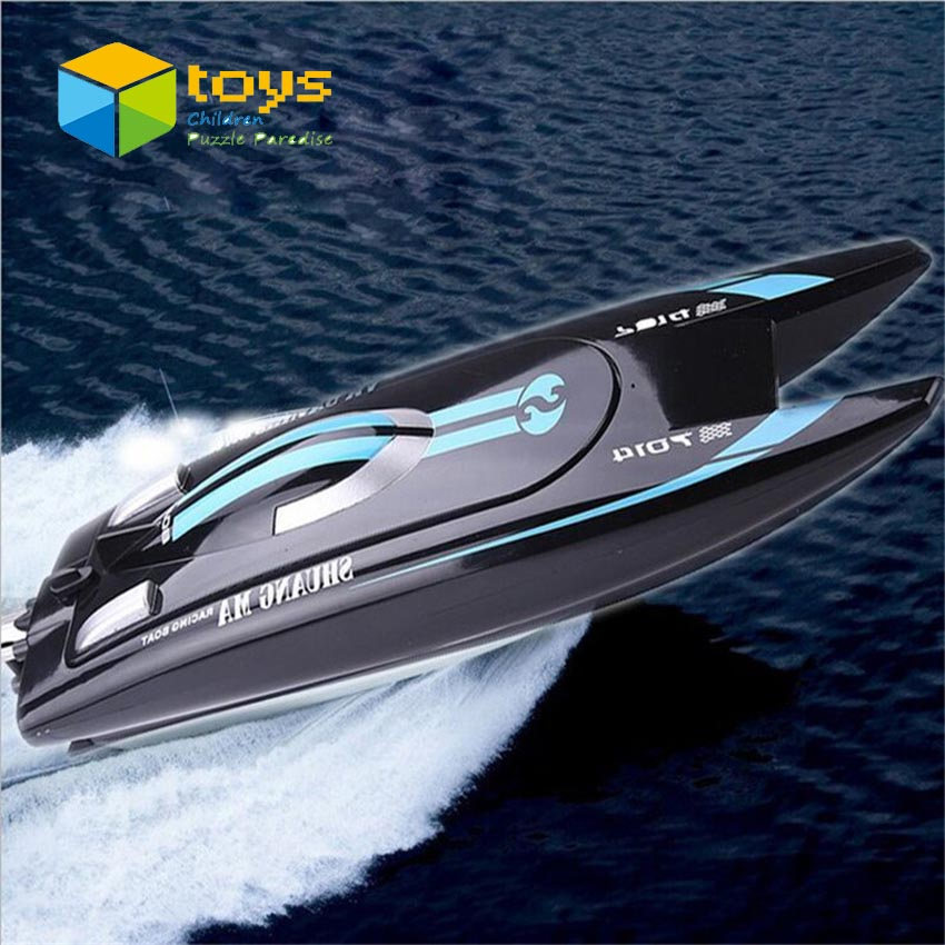 High speeding boat model electric mini rc speed boats rc speedboat remote-control-boats model barcos a radio control boat free(China)
