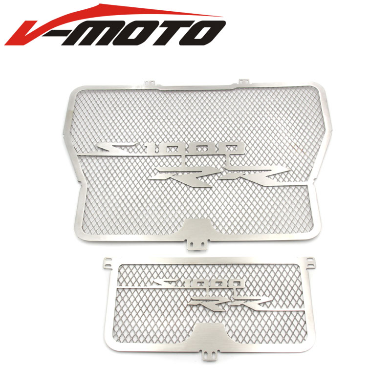 Radiator Grill with Oil Cooler Guard Cover Protector for BMW S1000RR HP4 2009-2014 12 13 2015<br>