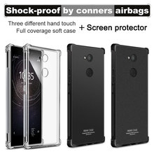 Buy sFor Sony Xperia L2 Case Sony L2 Case 5.5 inch Imak Shockproof Seires Soft TPU Back Cover Sony Xperia L2 Case Silicon for $5.88 in AliExpress store