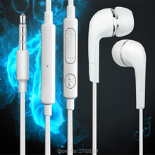 Handsfree Headset In Ear 3.5mm Earphones Earpieces For SAMSUNG Gravity TXT I Galaxy S I With Remote Microphone Earbuds(China)