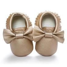 ROMIRUS Brand shoes baby 2016 kids first walkers 7 colors Tassels Bowknot Toddler Sneakers Casual Non-slip Shoes best love(China)