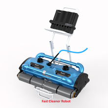 Remote Control Intelligent Robotic Swimming Pool Robot Cleaner Which is for Big Pool 1000-1500M2,40m Cable,Climb Wall Cleaning(China)