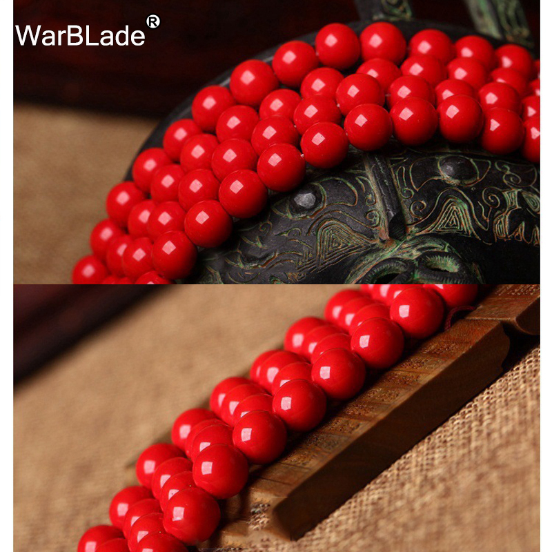 Wbl High Quality Natural Stone Dark Red Coral Beads Round Loose Beads 4mm 6mm 8mm 10mm For Diy Bracelet Necklace Jewelry Making Ideal Gift For All Occasions Beads Jewelry & Accessories