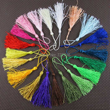 Free Shipping mix 20 colors polyester tassel fringe / DIY textile decor accessries tassels 100pcs/lot