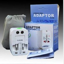 ALL in one New world travel adapter Universal Travel AC Power Converter Adaptor Plug Adapter WALL Charger