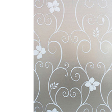 Window Sticker Frosted Glass Film Cover Adhesive Home Privacy Bedroom Bathroom Room Supplies Waterproof 45x200cm