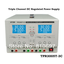 ATTEN TPR3005T-3C Triple channel DC regulated power supply AC 110V 220V optional