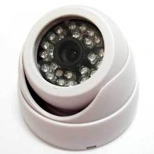 Onvif 1280*720P HD 1.0MP Mini Dome IP Camera IR Night Vision P2P Plug Play CCTV Security camara Free Phone view