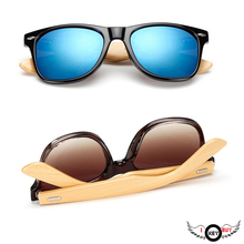 1PC Hot Selling New Arrive Bamboo Foot Sunglasses Men And Women Classic Color Film Bamboo Anti-Ultraviolet Glasses I Key Buy(China)