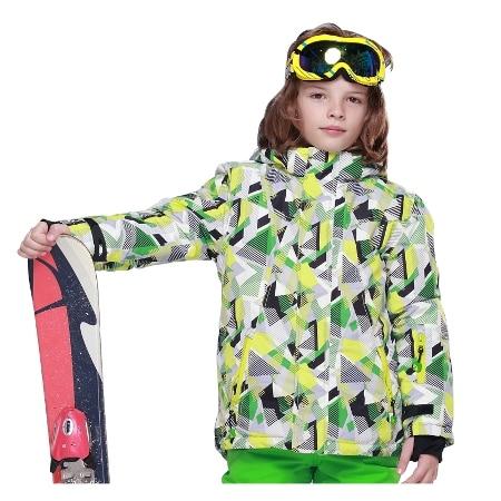 Phibee Waterproof Boys Ski Jacket Kids Snow Jacket Windproof Snowboard  Jacket -30 Degree Ph8017<br><br>Aliexpress