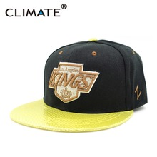 CLIMATE 2017 USA National Hockey Kings LA Los Angeles Team Fans Snapback Caps Men Women Sport Running Hiphop Snapback Caps Hat(China)