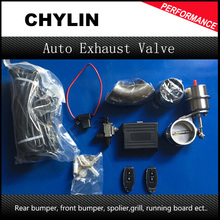 "Exhaust Control Valve Set With Vacuum Actuator CUTOUT 2.5"" 63mm Pipe CLOSE STYLE with Wireless Remote Controller"