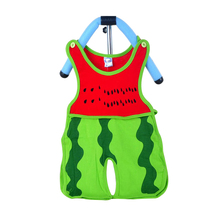 Brand Eco-friendly Baby Jumpduits Two-piece Suit Watermelon Sleeveless Short Baby Garments 0-1 years 1-2 years Infant Cloth Suit